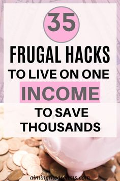 35 frugal living tips to live on single income and save money. Start your new year by incorporating these tips and see the difference. Save Money On Groceries, Ways To Save Money, Money Saving Tips, How To Make Money, Saving Ideas, Frugal Living Tips, Frugal Tips, Living Below Your Means, Budget Meals