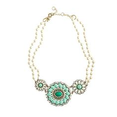Bridesmaid necklace option? To go with a navy blue dress.