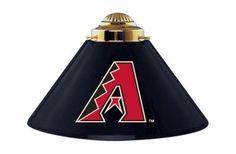 Arizona Diamondbacks 3pc Swag Metal Pool/Billiards Table Light/Lamp