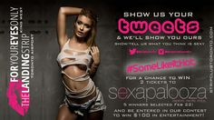 Want to win tickets to Sexxapalooza Toronto 2016? Tweet what you think is sexy with the hashtag #SomeLikeItHot to be entered into For Your Eyes Only contest. Good luck!