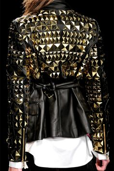 pyramid studded jacket