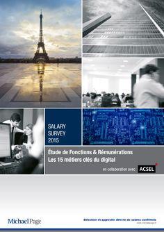 Les 15 métiers clés du digital - Etude de fonctions et de rémunératio…