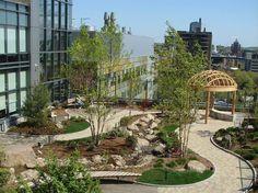 Healing Garden at Smilow Cancer Hospital