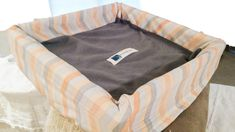 Cat Tree Perch Cover, orange, gray by MoonLightHappy on Etsy