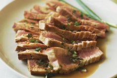 When seared on the outside, and left rare in the middle, Ahi tuna has a delicious meaty flavor, and rich, buttery texture that will make even the most hardcore steak lover smile. Seared Ahi tuna steaks are not only easy to fix, but take just minutes to cook.