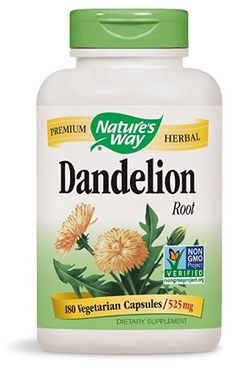 Health Beauty Remedies NATURES WAY: Dandelion Root 525 mg, 100 Veg Capsules - Popular bitter with a long history of use as an herbal remedy. Dandelion is a popular bitter herb used for centuries as a traditional health remedy. Herbal Remedies, Home Remedies, Health Remedies, Natural Remedies, Health Benefits, Health Tips, Health Facts, Women's Health, Health Care