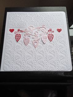 Pretty hearts from Tattered lace