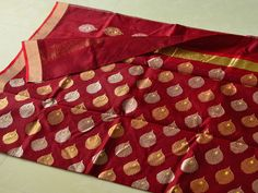'Woven Air' – The Charm of #Chanderi Referred to as 'Woven Air', the unmatched transparency and the sheer texture of a #Chanderifabric is rather rare and is not easily found in any other textile in the world.