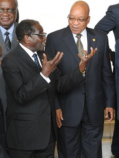 Jacob and Uncle Bob: The Bromance continues. President Jacob Zuma was in Zimbabwe on Thursday in what proved to be a welcome respite from his domestic woes – and a chance to renew his budding friendship with his Zimbabwean counterpart. By SIMON ALLISON.