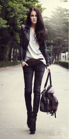#.....  Leather Skirts #2dayslook #fashion #LeatherSkirts www.2dayslook.nl