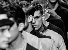 Model Stephen James for 080 Barcelona Fashion