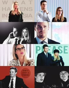 Arrow - Oliver and Felicity #Olicity