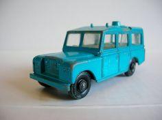Vintage 1960s Toy Car  Lesney Matchbox  No by hebrideanbeachcomber,
