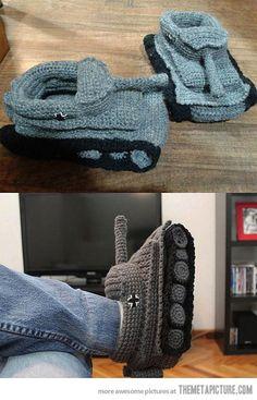Tank Slippers…