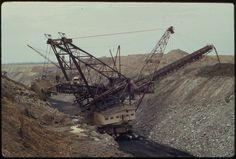 Strip mining machine, 1970