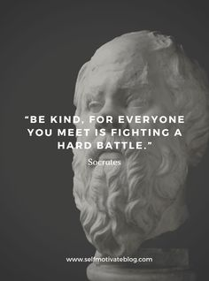 Socrates was known as a Greek philosopher, especially for his Ethics contributions. This is our Top 50 collection of Socrates quotes collected over the years from many different sources: Famous Inspirational Quotes, Wise Quotes, Great Quotes, Quotes To Live By, Funny Quotes, Famous Literary Quotes, Change Quotes, Amazing Quotes, Poetry Quotes