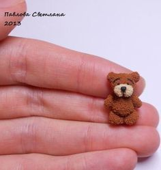 how to: polymer clay teddy bear