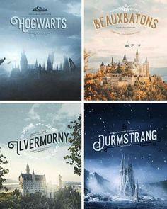 Wizarding Schools in Harry Potter Series