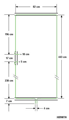 HB9MTN C-POLE PORTABLE ANTENNA FOR 20M