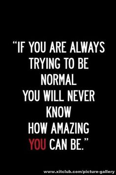 Always look forward.