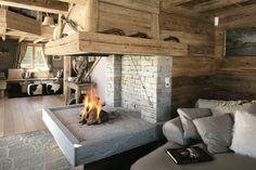 Cheminée sur mesure by BSM Casaling Chalet - Crans-Montana, Suisse