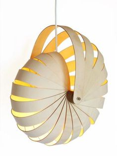 lampshade by Rebecca Asquith (easily laser-cut):                                                                                                                                                      More