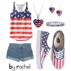 The 4th of July #polyvore