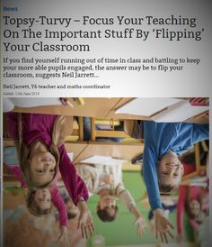 'Flipping Your Classroom' is easier than you might think   #teaching #education #teachers