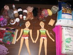 2 Doll Kits Ready for Mother Daughter Workshop