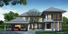 แบบบ้านสองชั้นสไตล์รีสอร์ท, แบบบ้าน 2 ชั้น, แบบบ้าน 4 ห้องนอน, ห้องน้ำสไตล์รีสอรท, พื้นที่ใช้สอย 505 ตร.ม., RE-H2-505.505, แบบบ้านสไล์รีสอร์ท , รับเหมาก่อสร้าง, รับสร้างบ้าน, รับสร้างบ้านสองชั้น