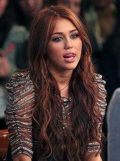 Miley Cyrus  I want this hair