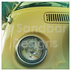 Lemon Meringue VW bus #SandbarDesigns #VWBus #VW #BusPics #Volkswagen #BusyDreamin.com