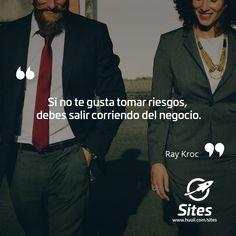 Frases de Negocios   Tomar Riesgos en los negocios :) #huuii #frases #quotes #work #trabajo #motivacion #emprender #negocio #huuiimoment