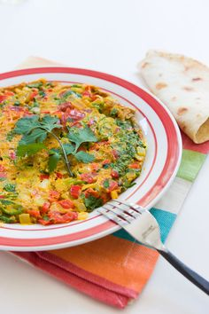 Masala Omelettes add Indian curry flavors into breakfast.