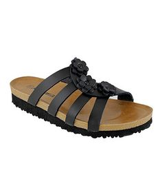 Loving this Rhema Black Flower Rocita Sandal on Cat Window Hammock, Birkenstock Florida, Warm Weather, Me Too Shoes, Feminine, Footwear, Sandals, My Style, Stuff To Buy
