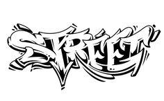 Street Graffiti Vector Lettering isolated on white. Graffiti Designs, Graffiti Art Drawings, Graffiti Doodles, Graffiti Wallpaper, Graffiti Pens, Graffiti Lettering Alphabet, Tattoo Fonts Alphabet, Graffiti Writing, Cool Graffiti Letters
