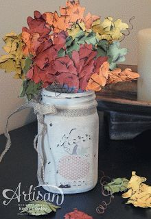 This beautiful creation will surely bring you right into the fall season and in the creating mood.