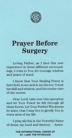 Danny surgery Prayers Before Surgery, Prayer Before Surgery Quotes, Surgery Prayer, Sinus Surgery Recovery, Endometriosis Surgery, Scoliosis Surgery, Hand Surgery, Tummy Tuck Surgery, Spine Surgery