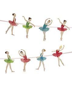 Another great find on #zulily! Little Dancers Ballet Garland #zulilyfinds   Meri Meri