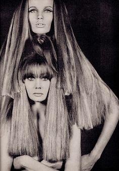 TatiTati Style ☆ VERUSHKA in Australian Vogue Dec 1966/Jan 1967 (minkshmink collection)