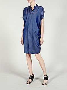Luxury fashion with a conscience. By women for women. Mod Fashion, Womens Fashion, Zero Maria Cornejo, Clothes Horse, Luxury Fashion, Shirt Dress, Denim, My Style, Casual