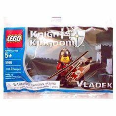 Lego Knights Kingdom Mini Figure Set #5998 Vladek by LEGO. $2.98. Fun for imagination play. Add to your Knights Kingdom collection. For Ages 5 & Up. LEGO Knights' Kingdom 5998 Vladek