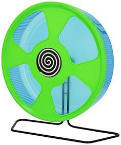 Trixie Exercise Wheel, 28 cm Dia (colours may vary)