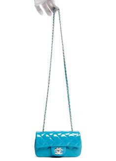 CHANEL TURQUOISE PATENT MINI CLASSIC 3499_7X 4X 3 CD 22 April 9, 2015 - Charles Rogers - Picasa Web Albums