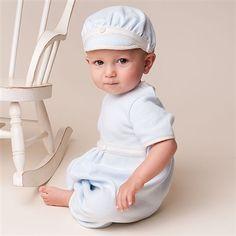 Newborn Boy Jumpsuit - Jack Christening/Baptism Collection - Fancy Gowns & Jumpsuits