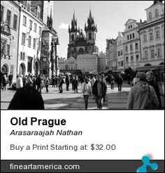 Old town Prague Old Art, The World's Greatest, Prague, Old Town, Fine Art America, Places To Visit, Street View, Artwork, Artist