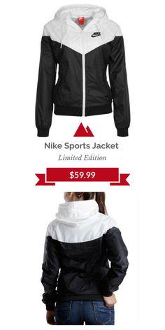 #Nike Hooded Sportswear Jacket