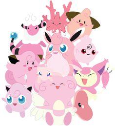 Pink Pokemon!