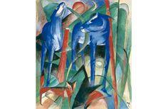 De schepping van de paarden ~ 1912 ~ Olieverf op doek ~ Museum De Fundatie, Kasteel Nijenhuis, Heino