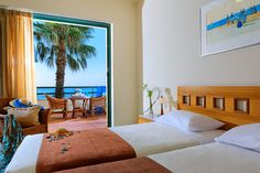 Superior family rooms in Crete, in Malia town, by Sirens hotels resort. Spacious rooms ideal for up to 4 people, all fully equipped. Sirens, Family Rooms, Bed, Furniture, Home Decor, Mermaids, Decoration Home, Stream Bed